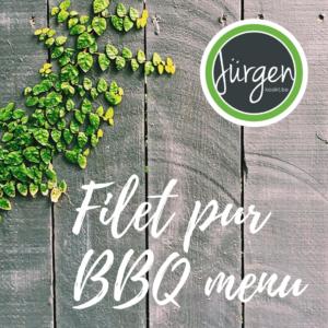 Filet Pur BBQ menu