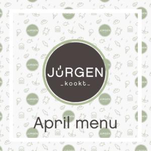 April menu's