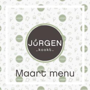 Maart menu's